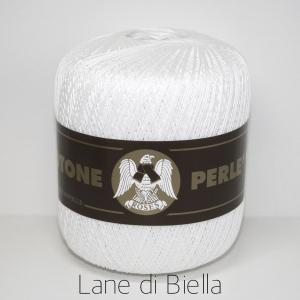 Gomitolo Puro Cotone Perlato Bianco