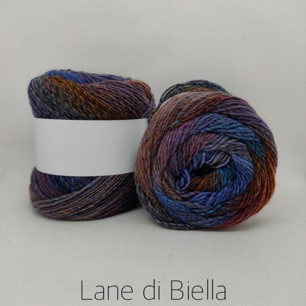 Misto Lana Multicolor Blu Viola