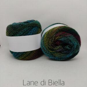 Misto Lana Multicolor Verde Blu