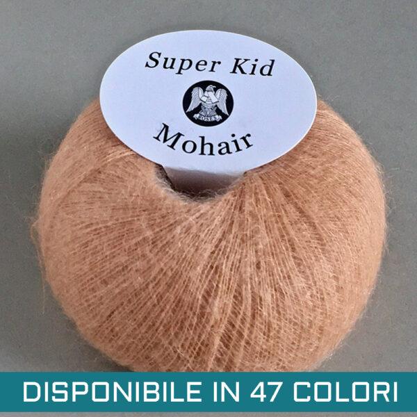 Gomitolo Mohair Super Kid Pesca