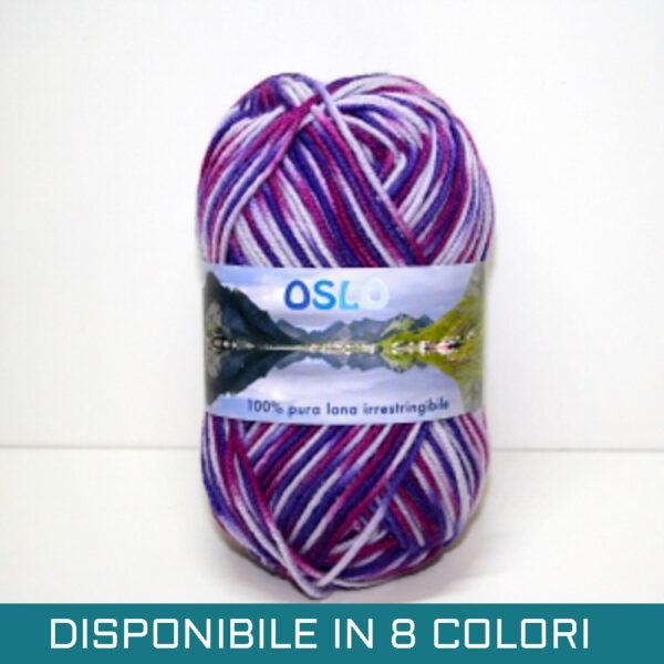 Pura Lana Oslo Multicolor Viola