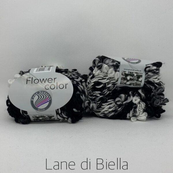 Acrilico Flower Color Multicolor Bianco Nero