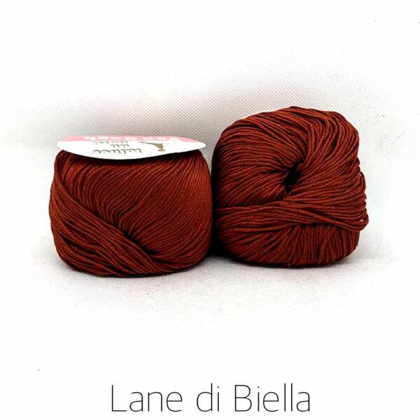 Gomitoli Rosso Scuro Lane di Biella