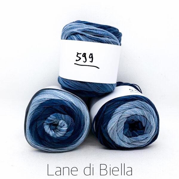 Lane di Biella con tonalità di Blu e Azzurro