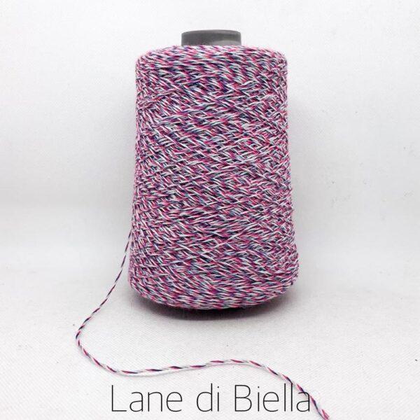 rocca lilla cotone polyamide intrecciato