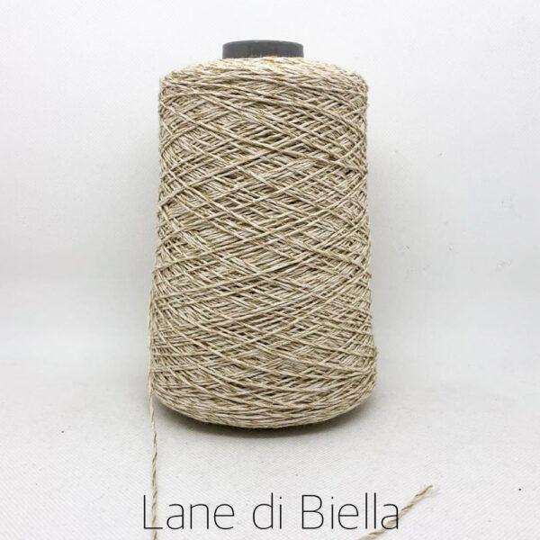 rocca cotone polyamide beige lamè lurex
