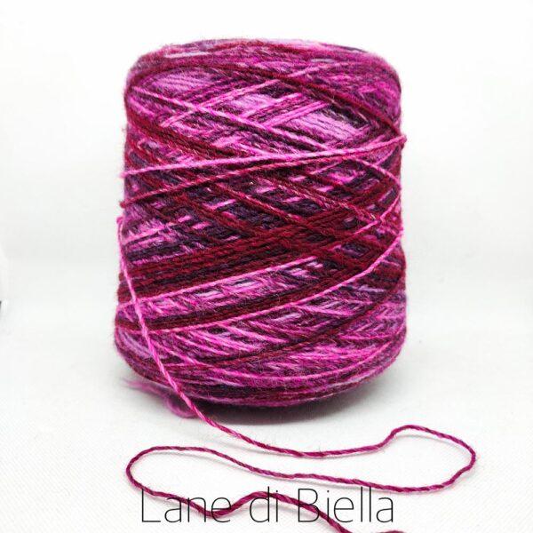 Misto Lana Colore Rosa Fucsia disponibile in rocche