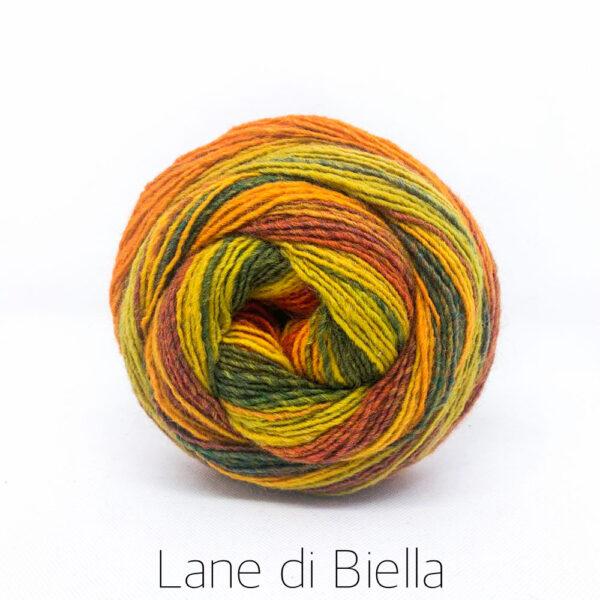 gomitolo lana carilico mini cake giallo verde arancio