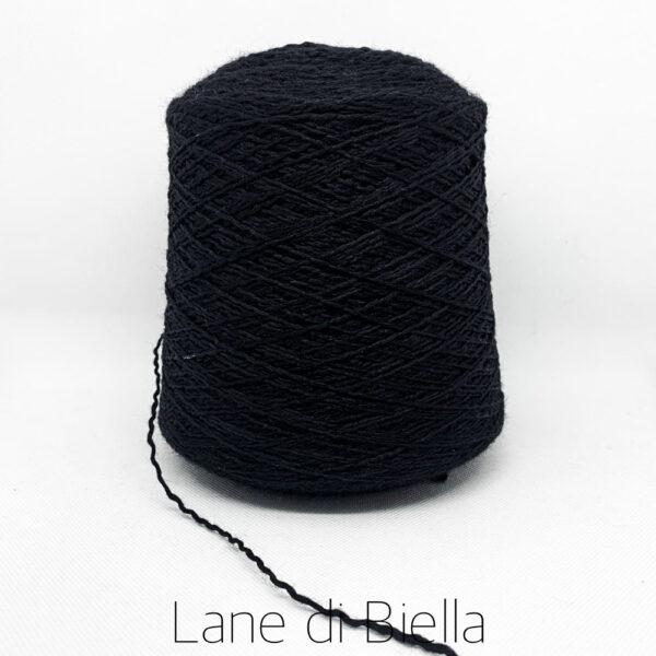 rocca lana nylon fiammato blu scuro