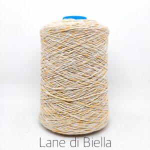 rocca misto cotone polyamide lurex giallo lamè