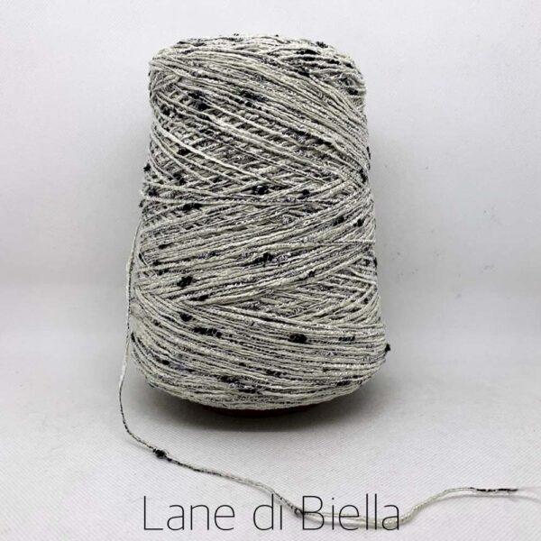 rocca cotone polyestere metalizzato filo di biella