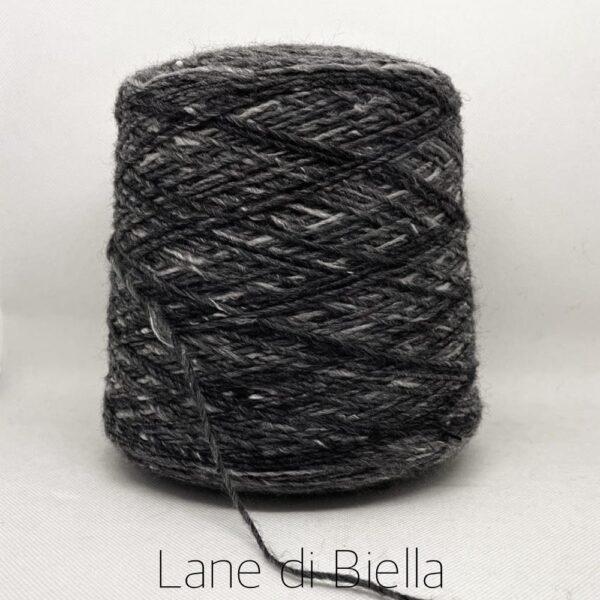 rocca misto lana acrilico grigio bianco