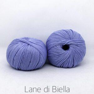 gomitolo pura lana merino azzurro irrestringibile