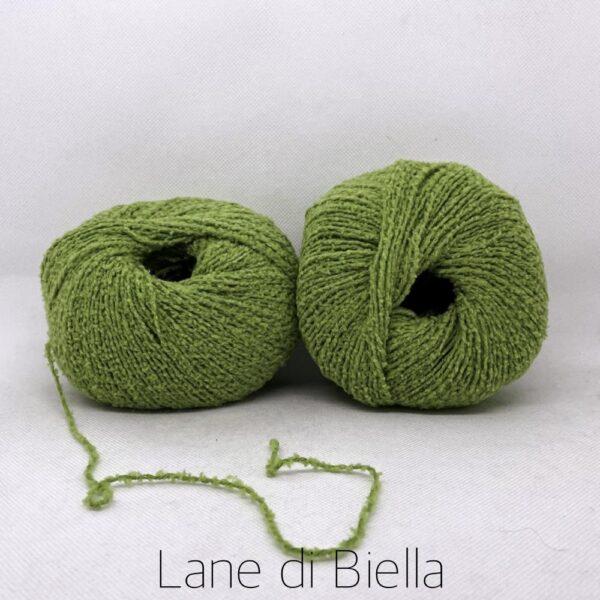 gomitolo cotone polyamide verde