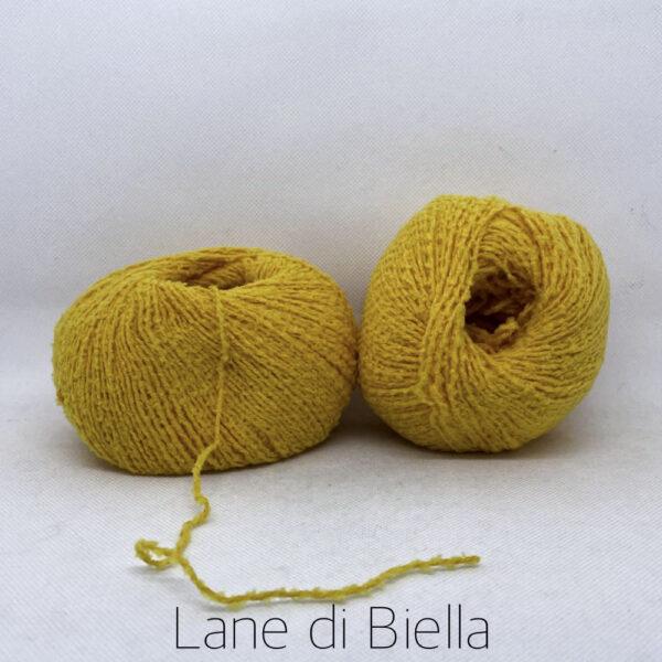 gomitolo cotone polyamide giallone