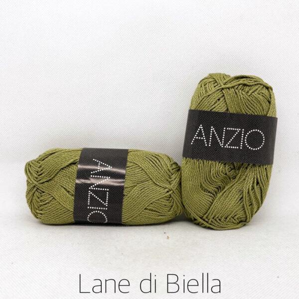 gomitolo cotone filatura di crosa anzio verde oliva