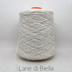 rocca misto lino polyamide lurex bianco