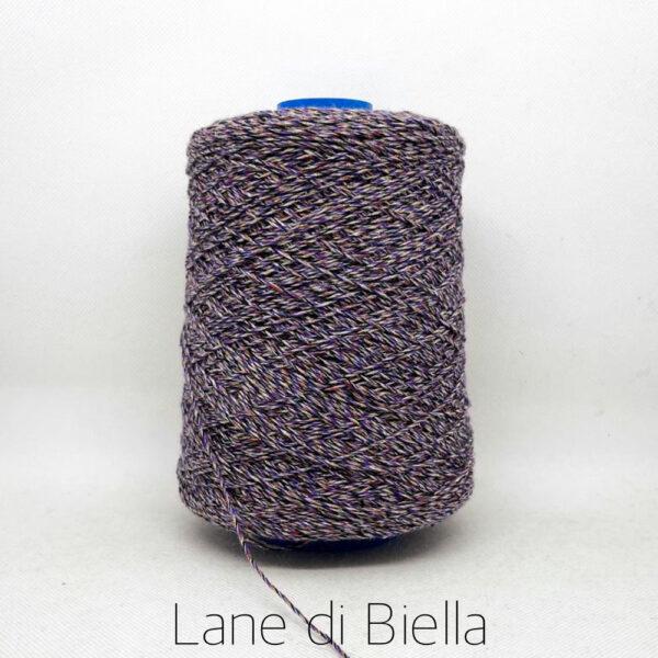rocca misto lino cotone polyamide lurex viola
