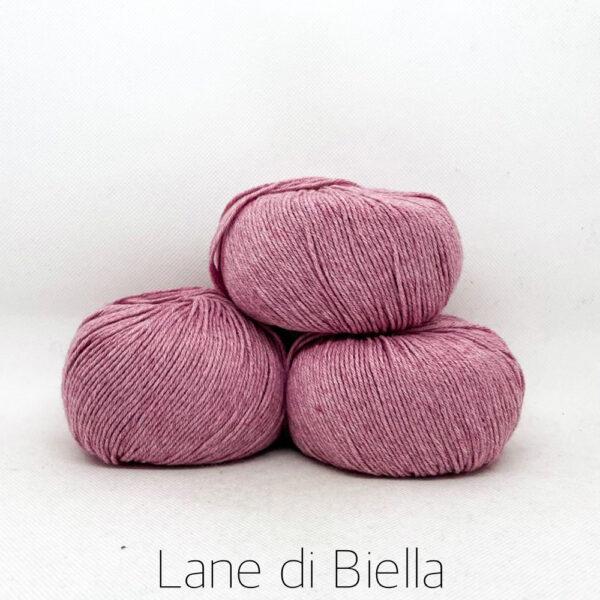 gomitolo misto cotone cachemire 3 pezzi rosa confetto