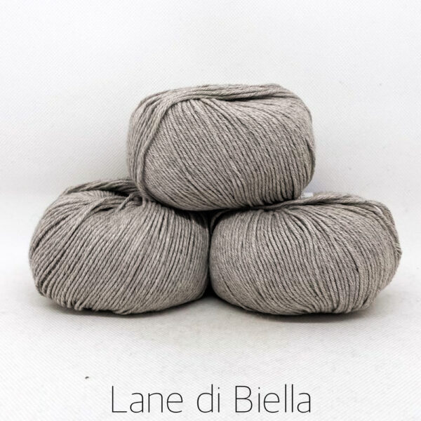 gomitolo misto cotone cachemire 3 pezzi grigio