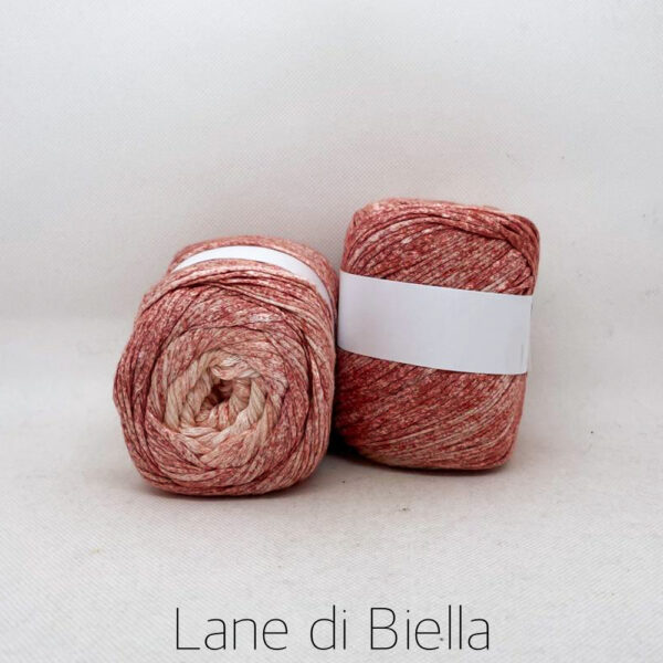 gomitolo cotone viscosa rosa