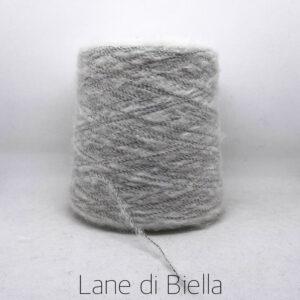 rocca misto lana garzato polyamide morbido grigio