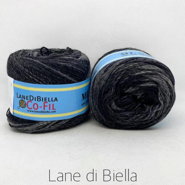 gomitolo misto lana acrilico 350mt grigio
