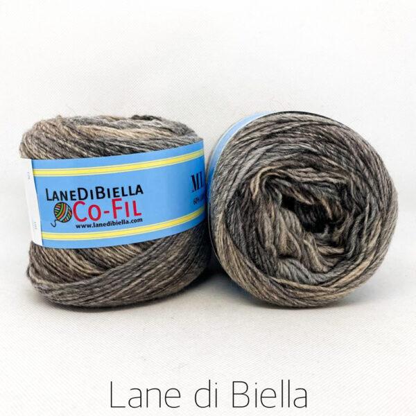 gomitolo misto lana acrilico 350mt beige grigio