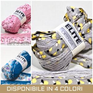 gomitolo sandilane ortensia acrilico polyestere grigio bianco rosa blu