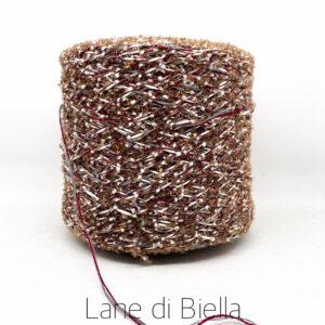 rocca cotone polyamide marrone bianco rosso