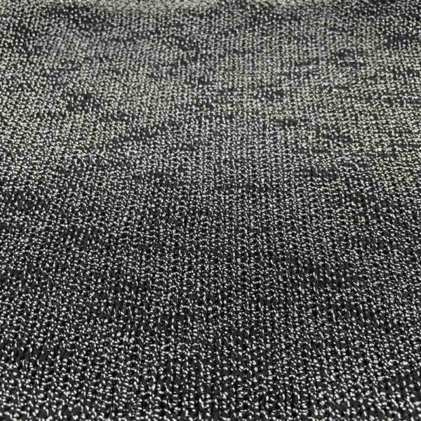 telo misto cotone polyestere viscosa nero grigio