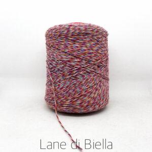 rocca misto lana acrilico rosso blu arancio
