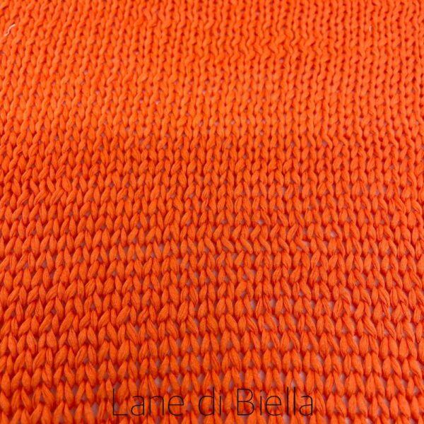 rocca puro cotone fetticcina arancio telo