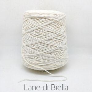 rocca misto cotone acrilico bianco