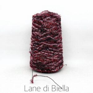 rocca campionatura misto cotone polyamide lurex rosso rosa
