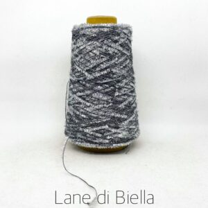rocca campionatura misto cotone polyamide lurex nero bianco argento